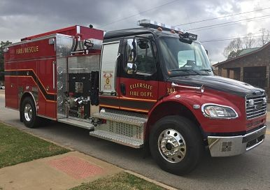 County Purchases New Fire Truck for Ellerslie VFD