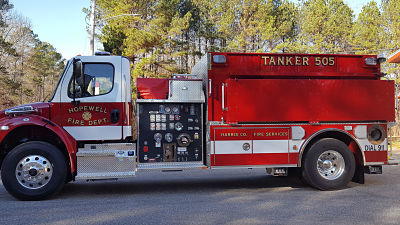 County Purchases New Fire Truck for Hopewell VFD